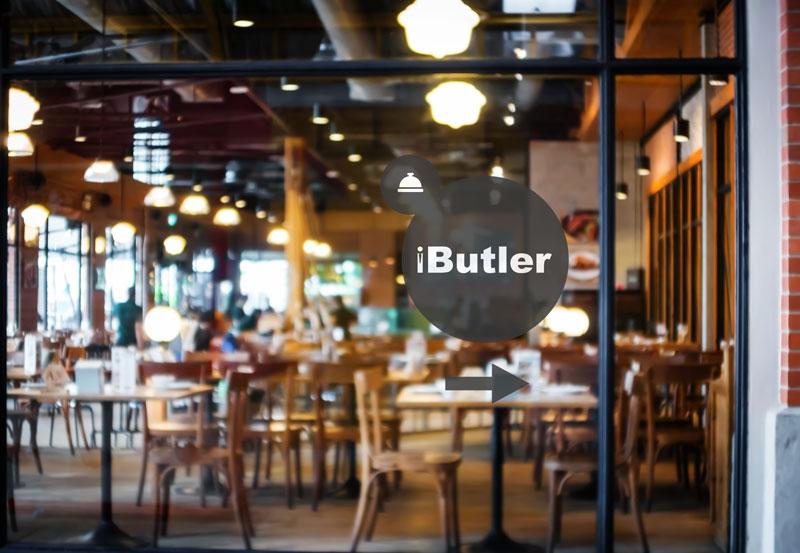 sfeerfoto restaurant dat gebruik maakt van ibutler