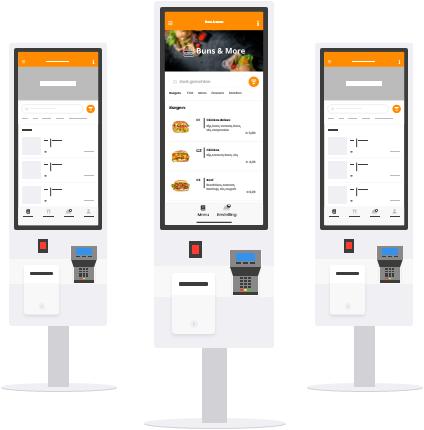 voorbeeld schermen bestelzuilen